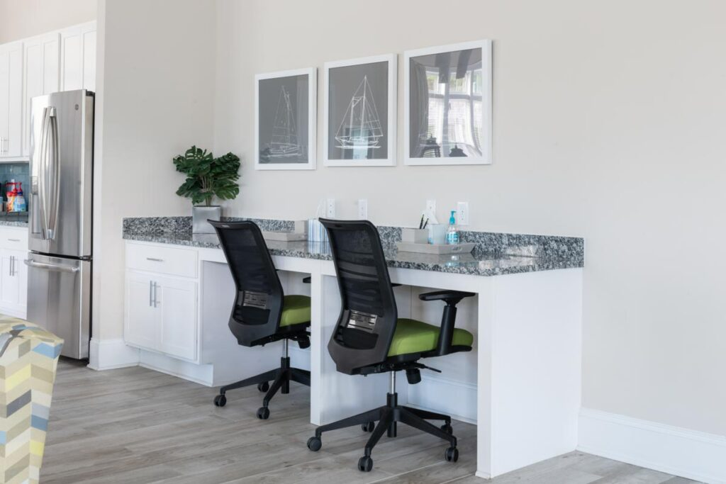 Preserve apartments in Morehead City work station